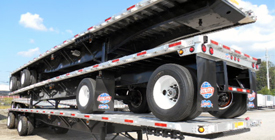 flat bed at Utility Trailer Sales of Alabama